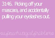 oh gosh, i do this everyday. haha