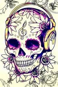 cross music headphones skulls with wings tattoos idea - Yahoo Image Search Results