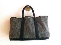 Vintage HERMÈS Leather Handbag / Authentic by HawkandSparrowOnline