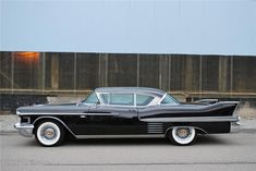 badass car, 58 Cadillac. We found a driver with one of these in VA but way too expensive