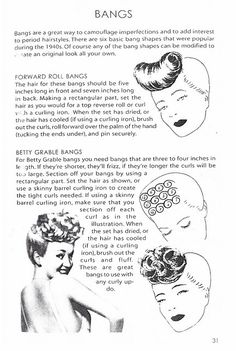 msninette: How to make bangs