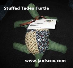Stuffed Tadeo DIY Turtle