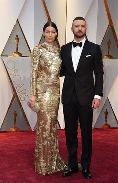 Jessica Biel e Justin Timberlake |.| Oscar 2017