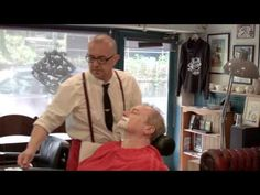 Luxury Hot Towel Wet Shave - YouTube Shaved Hair Cuts, Wet Shaving, Barber, Towel, My Favorite Things, Couple Photos, Luxury, Youtube, Ideas