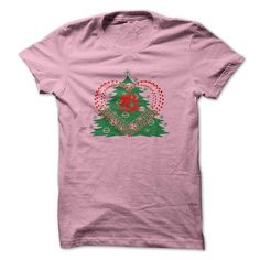 favorite Names Christmas one Heart Bell And Tree Christmas T shirts