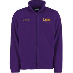 LSU Tigers Columbia Flanker II Full-Zip Fleece Jacket - Purple - $59.99