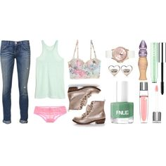 """Casual Cute"" by desiringeden on Polyvore"