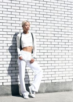 Vanessa Wong killing it in all white