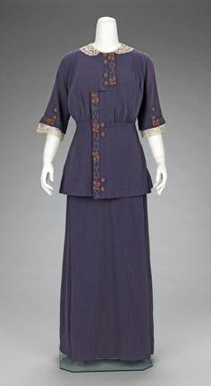 Dress, 1912-15, Costume Institute of the Metropolitan Museum of Art