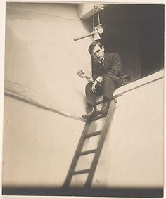 Tristan Tzara photographed by Man Ray