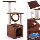 """36"""" Deluxe Cat Tree Condo Furniture House Tunnel Scratcher Pet Play Toy Coffee"""