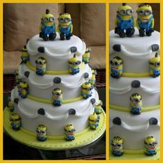 how to make a minion wedding cake topper 1000 images about cakes on minion in 15822