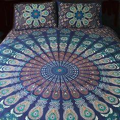 Midnight Blue Tapestry Bedding