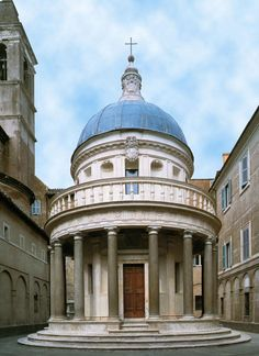 Donato Bramante, Tempietto di S. Pietro in Montorio, Roma ... | 236 x 324 jpeg 17kB