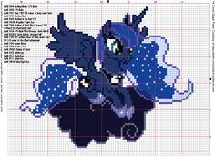 Luna S2 Cross Stich Pattern by ~AgentLiri on deviantART