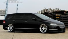 Custom Honda Odyssey. Who says you can't have fun with a minivan?