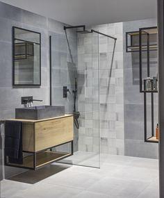 Minimalisticky zařízené koupelny v pánském stylu se stávají trendem moderního bydlení. Ikea Bathroom, Bathroom Ideas, Modern House Design, Sweet Home, Interior Design, Star Wars, Cabin, Future, Decoration