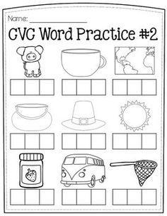 Enjoy 4 FREE elkonin box worksheets to help your students practice CVC words! Kindergarten Language Arts, Kindergarten Worksheets, Kindergarten Classroom, Cvc Worksheets, Classroom Decor, Phonics Activities, Teaching Phonics, Letter Activities, Reading Activities