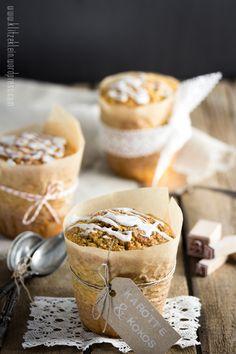 'Ran an die Kuchengabel!' Köstlichste Kokos-Karotten-Törtchen zum kommenden { World Baking Day }
