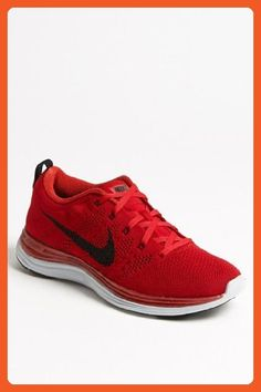 d340b1fea116 Nike Flyknit One Running Shoe in Red for Men (Gym Red  Black  Pure Platinum)