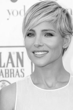 Pixie hairstyle inspiration from Elsa Pataky