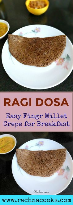 #milletrecipes #fingermillets #breakfast  #indiancuisine This is a really simple recipe of finger millet dosa or crepe that can be cooked in no time. It is super filling, tasty, not to mention very healthy. Do try it.
