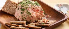 Smoked salmon and seasonings dress up a flavored cream cheese spread. Lox is salmon that is brine-cured, then cold-smoked. Seafood Appetizers, Appetizer Dips, Appetizers For Party, Seafood Recipes, Appetizer Recipes, Pate Recipes, Cooking Recipes, Christmas Brunch Menu, Christmas Snacks