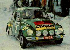 1973 Swedish Rally (Björn Waldegård)Volkswagen 1303S