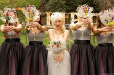{Wedding Trends} : Bridesmaids in Skirts - how to styled, accessorized and mix-match by Belle The Magazine