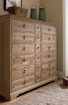 Extra large chest of drawers                                                                                                                                                                                 More Bedroom Dressers, Bedroom Chest Of Drawers, Chest Dresser, Bedroom Furniture, Home Furniture, Large Chest Of Drawers, Large Dresser, Paula Deen, Kitchen Furniture