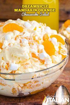 Jello Pudding Desserts, Fluff Desserts, Summer Desserts, Just Desserts, Delicious Desserts, Yummy Food, Dessert Salads, Dessert Recipes, Fruit Salads