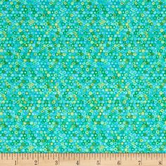 The Rainbow Fish All Over Glitter Bubbles Teal from @fabricdotcom  Licensed to Studio 37, step into the pages of your favorite children's book, The Rainbow Fish! Learn the true spirit of giving with this fabric that features classic prints from the book, from lovely fish with glittery scales to abstract ocean inspired prints. Perfect for quilting, apparel and home decor accents. Colors include shades of blue and green.