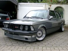 BMW E21 3 series Alpina B6 2.8 grey