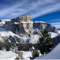from @visitvaldifassa Cartolina dalla Val di Fassa ⭐️❄️