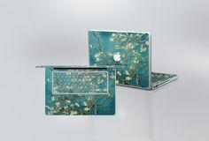 Van Gogh Blossoming Almond Tree MacBook Skin by edwardstickerhands