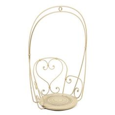 Fermob 1900 Chair Swing Color: Linen