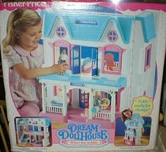 my dollhouse. hours and hours of fun
