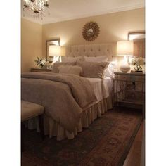 40 Unbelievably Inspiring Bedroom Design Ideas ❤ liked on Polyvore featuring home, home decor and inspirational home decor