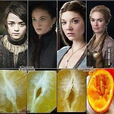 Girls in Game of Thrones...
