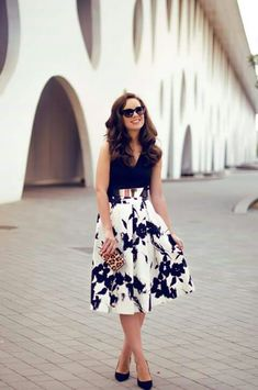 Beautiful midi skirt <3