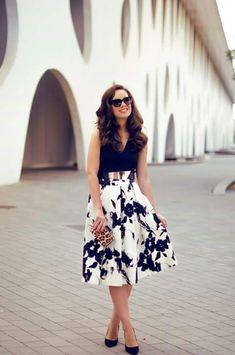 Beautiful midi skirt <3