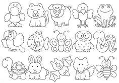 EDUCAÇÃO INFANTIL CIDADÃ: DESENHOS DE ANIMAIS