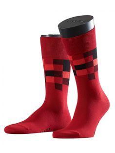 FALKE socks in red: Top Square - modisch und hochwertig