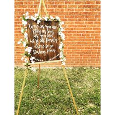 Seating Plan sign, come as you are stay as long as you can, we're all family here so no seating plan, rustic wedding, wedding decor by TheVintageMintTX on Etsy https://www.etsy.com/listing/287729167/seating-plan-sign-come-as-you-are-stay