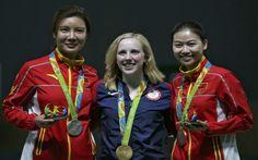 Americana surpreende e fica com a primeira medalha de ouro dos Jogos do Rio