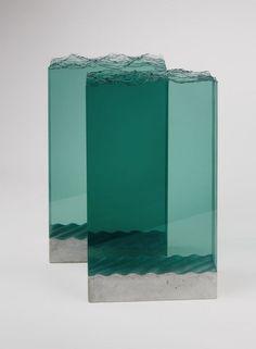 Glassculptuur van Ben Young