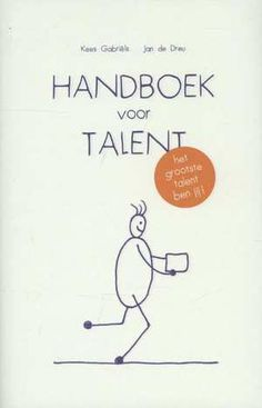 Handboek Voor Talent-Jan de Dreu, Kees Gabriëls-boek cover voorzijde