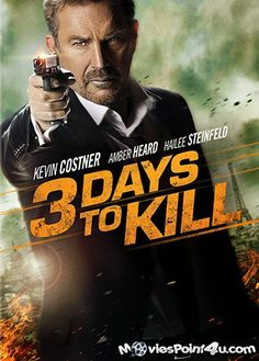 3 Days to Kill (2014) Hindi Dubbed 480p BluRay Watch and Download
