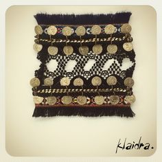 *The Bohemians* bracelets #klaidra #designers #jewelry #bracelets #handmade #bohemian #ethnic #gypsy #fashion #lace #fringes #coins #bracelet #bohemianstyle #instafashion #greekdesigners #klaidrajewelry