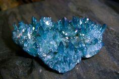 Aura Quartz  FREE SHIPPING USA  Aqua Aura  Crystal by wearAURA